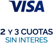 Visa - no interest installments